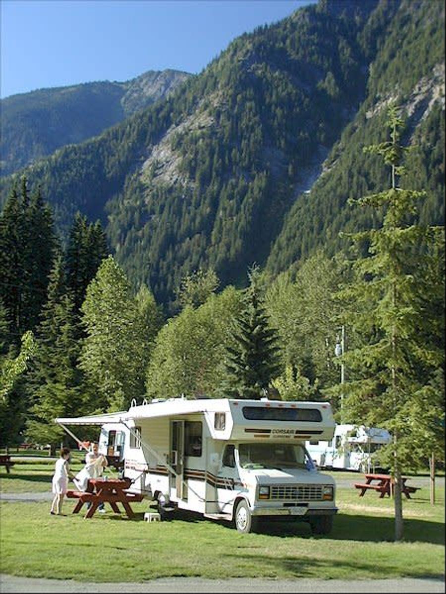 Canyon Hot Springs Resort Travel British Columbia